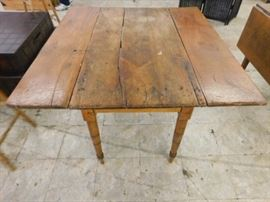 Antique Dropleaf farmhouse kitchen  table