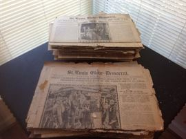 100 plus years st.louis news papers