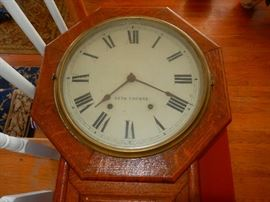 Old Seth Thomas Wall Clock
