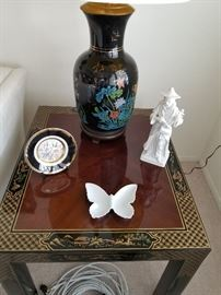 Drexel end tables, Asian Collectibles