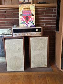 Vintage speakers/ receiver