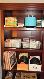 Records, CDs, Cassettes