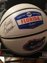 Signed Billy Donovan basketball