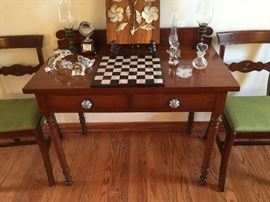 Antique 19th Century cherry table.