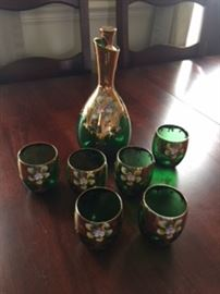 Murano Hand Painted Glass from Italy