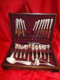 80 Piece Sterling Flatware Set