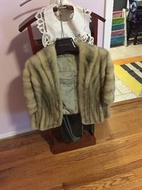 We have several beautiful furs!