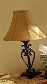 Beautiful Metal Side Lamp