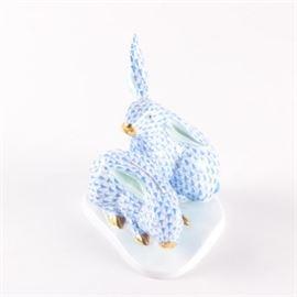 Herend HandPainted Rabbits