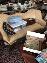 Victorian settee