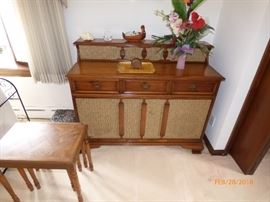 antique record player/stereo
