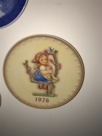 HUMMEL COLLECTIBLE PLATES