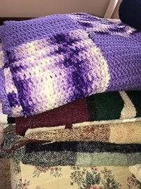 WOOL AND HANDMADE BLANKETS