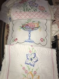 VINTAGE AND HANDMADE LINENS