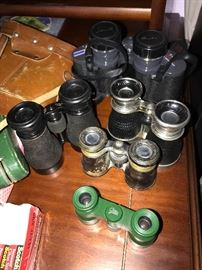 COLLECTION OF BINOCULARS