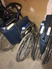 WHEELCHAIRS-2 AVAILABLE
