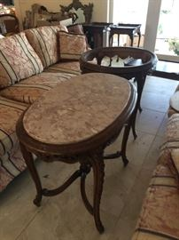 Marble Top Table  Charleston Estate, Made in Italy