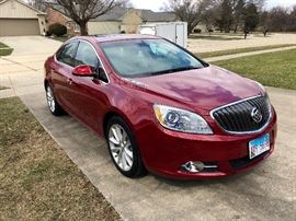 Check me out! 2012 Buick Verano with only 21k miles on it will be for sale this weekend! $9500.  All leather interior, Remote Start and entry, heated dual seats, heated steering wheel, XM and OnStar capable, Bose sound system, this car is a gem! Has some body damage near driver door. See video!