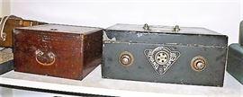 Antique/vintage Asian boxes