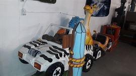 Zamperla Safari Kiddie Ride In Mint Condition