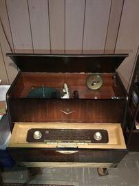Antique Grundig Phonograph