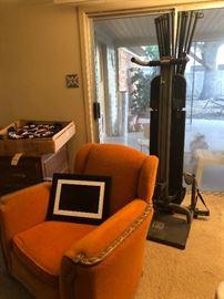 Bowflex & chair