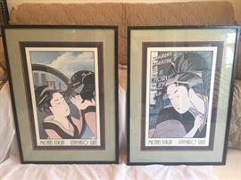 Michael Knigin Matted Prints