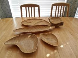 Abaca Grainware Serving Pieces