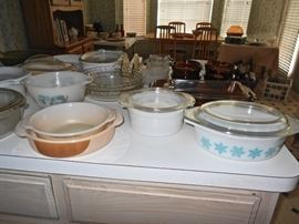 60's CASSEROLE DISHES