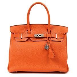 LOT763 Hermes Birkin Bag
