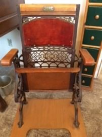 Antique Ornate seat - Grand Rapids Co.