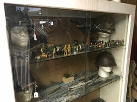 Hundreds of antique miniatures and vehicles