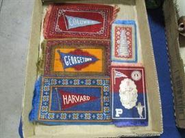 Vintage tobacco blankets