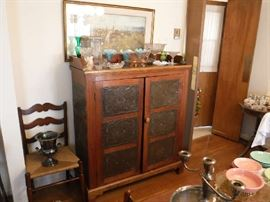 Antiques Pie Safe in near-perfect condition. Asking $200.