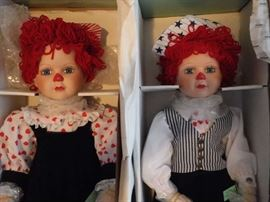 Seymour Mann Raggedy Ann & Andy  Never out of the box!