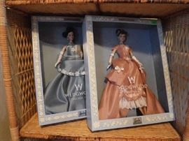 Barbie Wedgewood Dolls Limited Run VERY Desirable and most beautiful Barbies ever.
