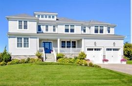 Beautiful new construction beach home oon the water only 3 years old. Prime Monmouth Beach waterfront property.