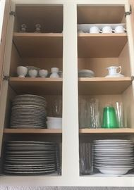 Dishes etc.
