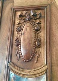 Detail of carved design