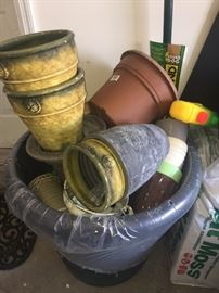 Gardening supplies & pots