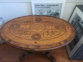 Inlaid marquetry Hall Table