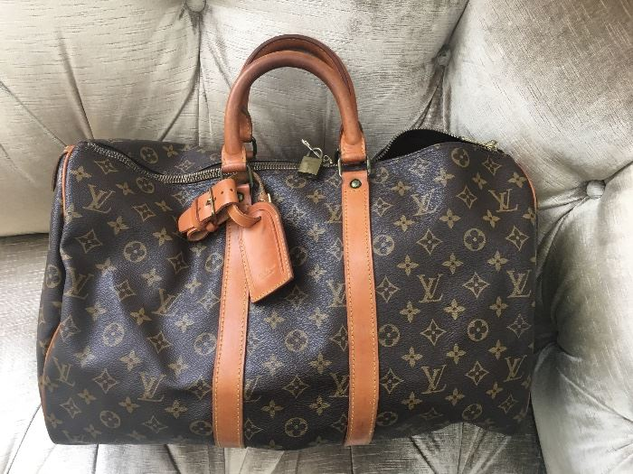 Authentic Louis Vuitton duffle