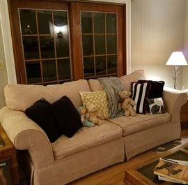 Loveseat, Coffee/End Tables, Cabbage Patch Kids Dolls, Decorator Pillows