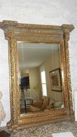 "Living Room:  This classic mirror measures  39"" wide  x 49"" tall."