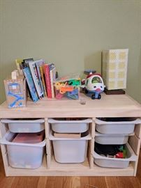 Children's toys and storage