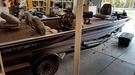 Tracker Pro Team 185 Bass Boat Picture #1