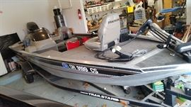 Tracker Pro Team 185 Bass Boat Picture #2