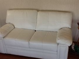 part of the beautiful top grade leather sofa set $650 or best offer