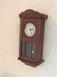 Mini grandfather clock $30
