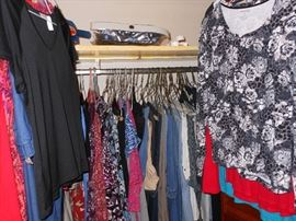 CLOTHES  3 CLOSETS PLUS